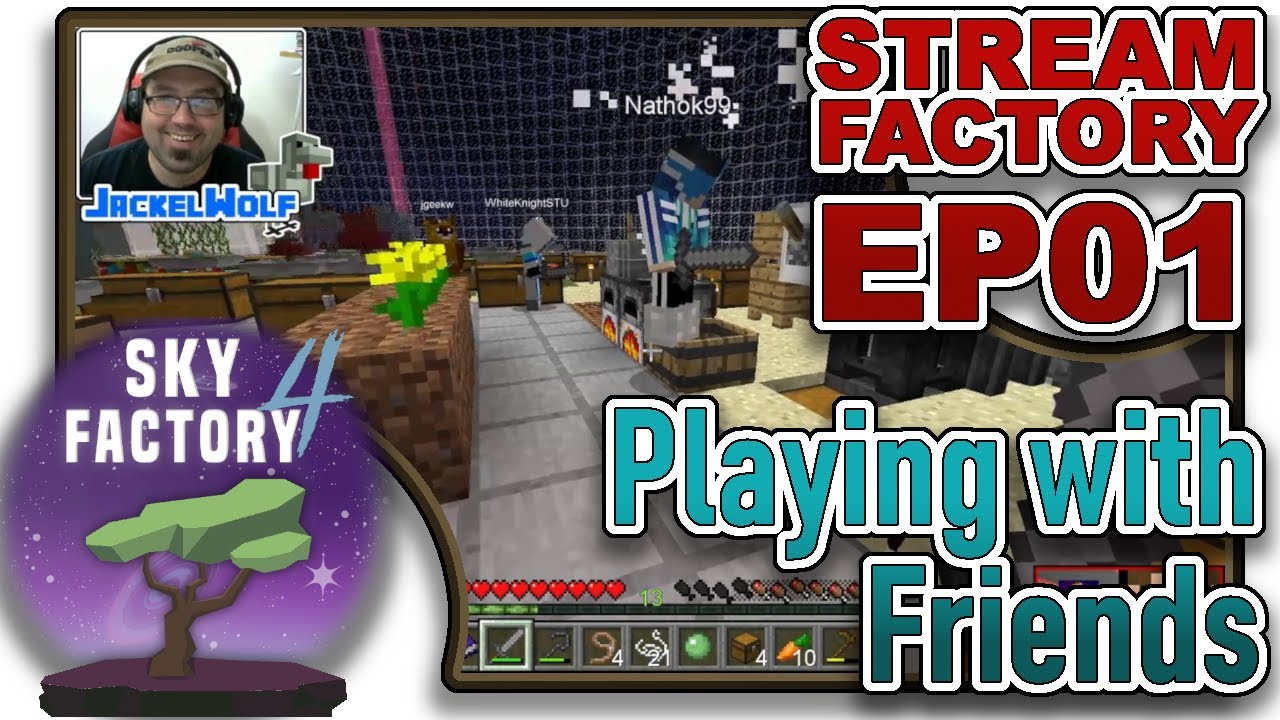SKYFACTORY 4 - PLAYING WITH FRIENDS [LOST CITIES WORLD TYPE]