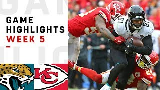 Jaguars vs. Chiefs Week 5 Highlights | NFL 2018