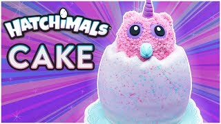 HOW TO MAKE A HATCHIMALS CAKE - NERDY NUMMIES
