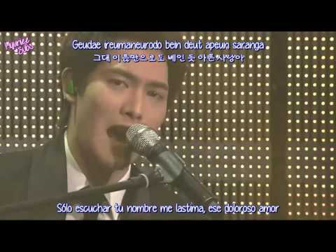 [CNBLUE] Lee Jong Hyun - My love (Sub español + Romanización + Hangul)