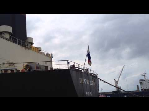 vessel coming out of berth