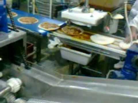 frozen pizza base automatic make up machines docking. Black Bedroom Furniture Sets. Home Design Ideas