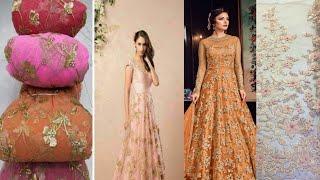 Net dress design pattern||how design dress with net||net dress design 2020
