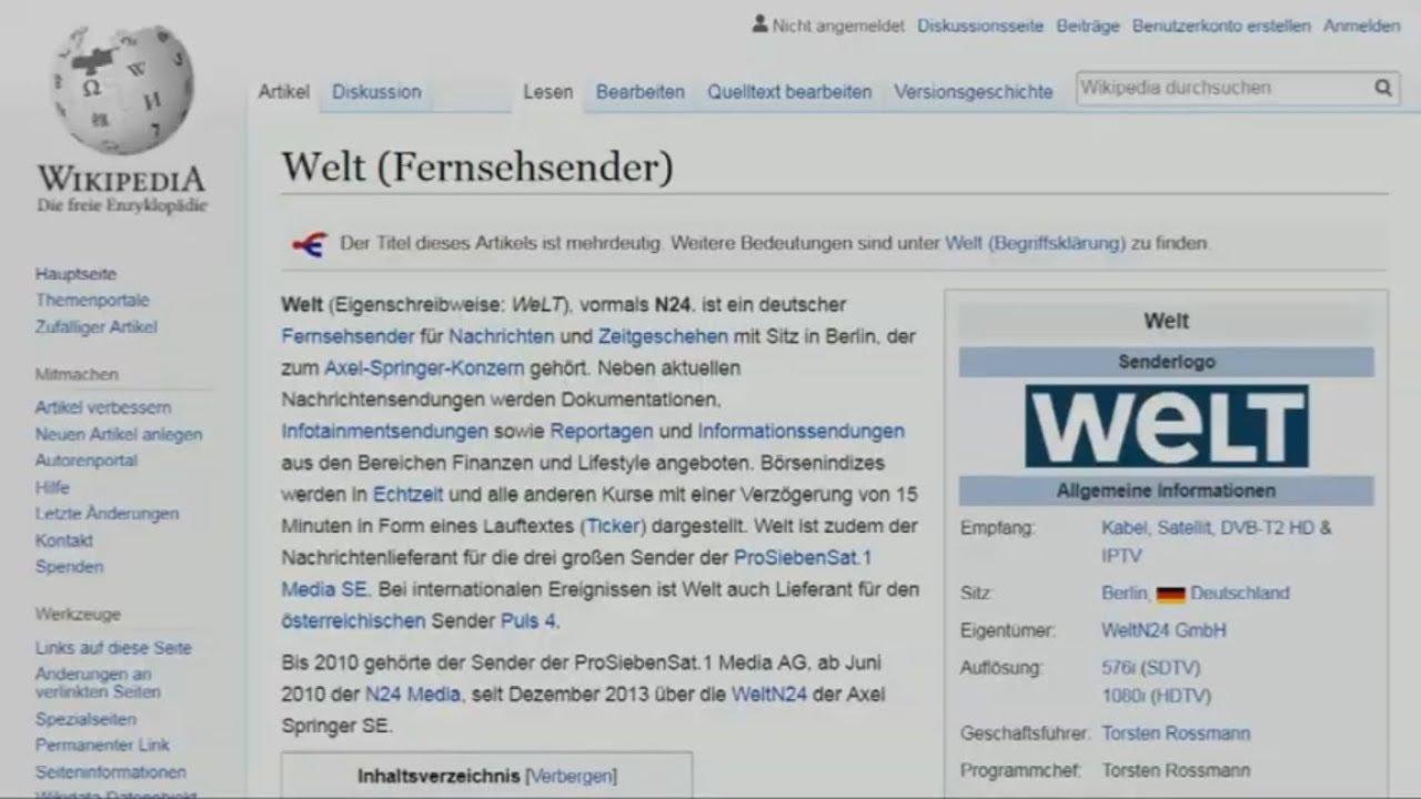 Wikipedia geht aus Protest für einen Tag offline