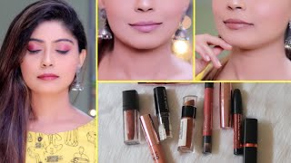 Top 10 Affordable NUDE LIPSTICKS (Rs.150-Rs.500)| Rinkal Soni