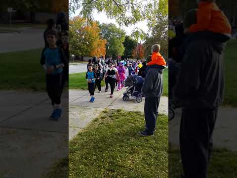 Mo Daily Stories # 6 Halloween March 2016 at Pardee School