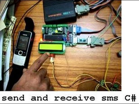 Send and Receive SMS in  NET using GSM modem