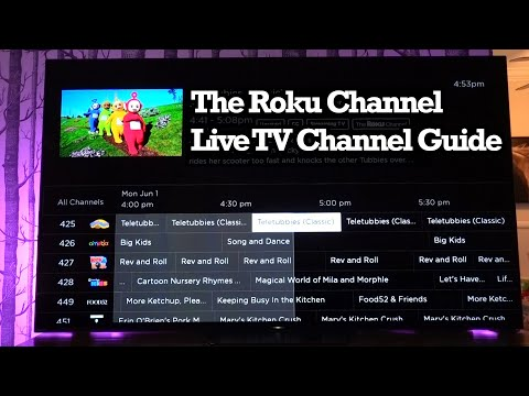 Roku Live Linear TV Channel Guide Free Movies Shows Spanish Channel