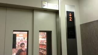マックスバリュ別府店のエレベーター
