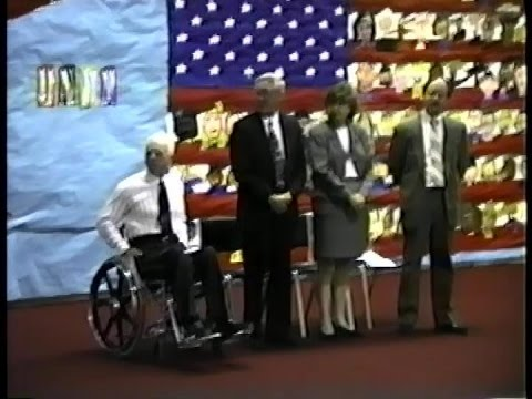 1995 Graduation At The Edgar B. Davis School in Brockton, Massachusetts