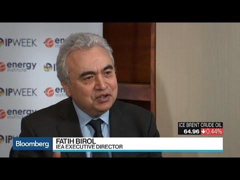 IEA's Birol Sees Slowing Oil Demand Growth, No Peak