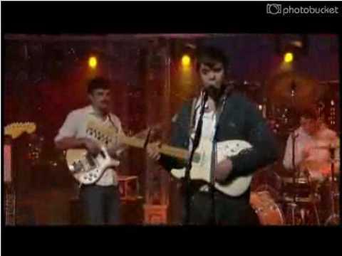 Dirty Projectors - Cannibal Resources @ Letterman via Audio Perv