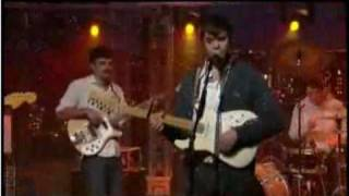 Dirty Projectors - Cannibal Resources @ Letterman via Audio Perv