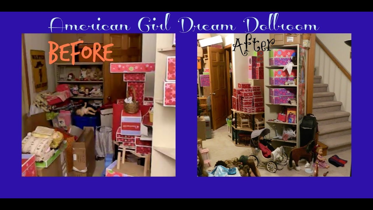 American Girl Room Tour