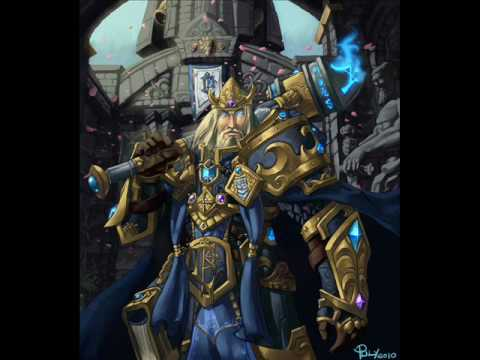king arthas of lordaeron warcraft iii the frozen throne