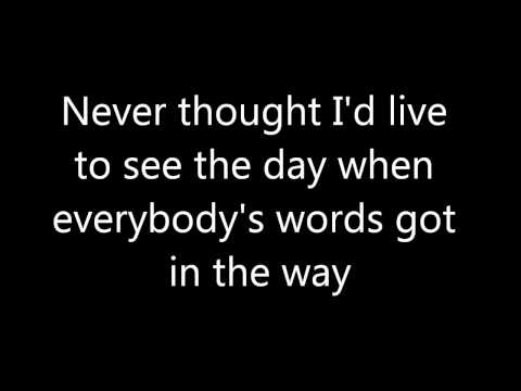 Glee - Everybody Talks (Lyrics) HD