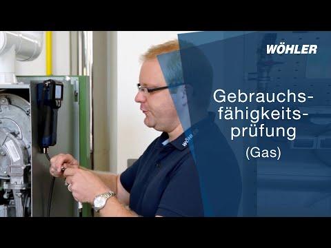 Gebrauchsfähigkeitsprüfung (Gas)