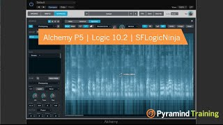 Alchemy Synth in Logic 10.2   Advanced Sound Sources   SFLogicNinja