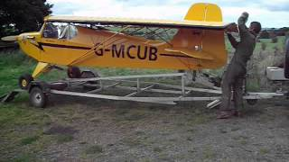 GMCUB Reality Escapade Aircraft Trailer Wing fold