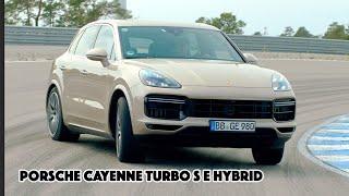 Tim Schrick - Porsche Cayenne Turbo S E Hybrid