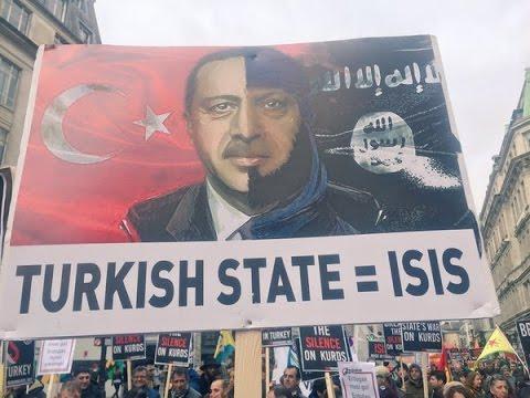LIVE: Mass pro-Kurdish demo to hit London