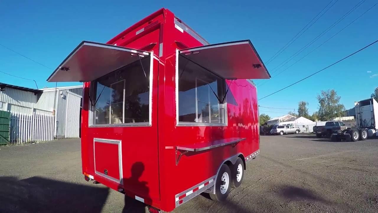 Custom Built Concession Trailer for California (HUD Insignia Passed)