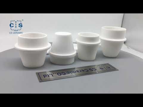 lab TGA alumina ceramic crucible