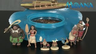 Disney Moana Projection Boat Playset from The Disney Store