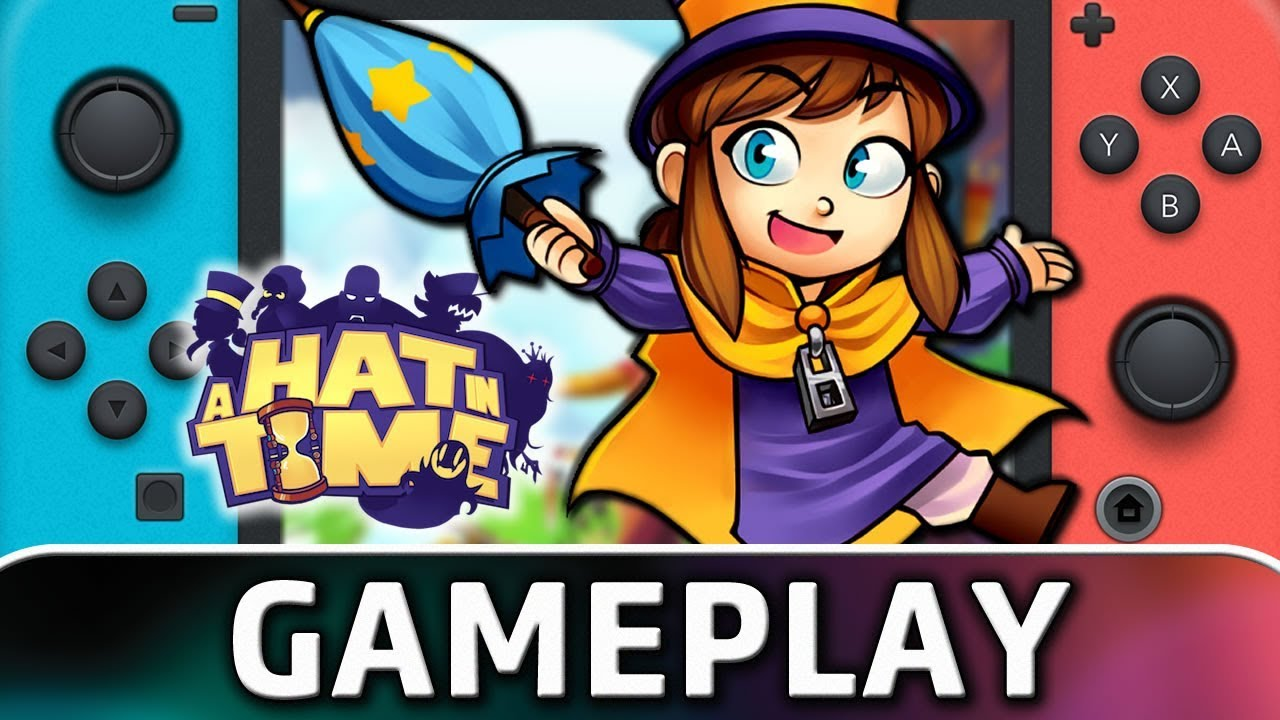 A Hat in Time | First 20 Minutes on Nintendo Switch