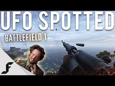 UFO SPOTTED - Battlefield 1 |