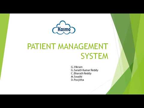 Patient Manegement system(PMS) RPA Real time Use case developed by BluePrism.