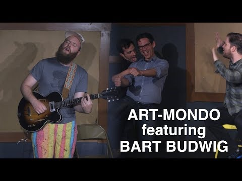 Art-Mondo featuring Bart Budwig at the Kickstand Comedy Space
