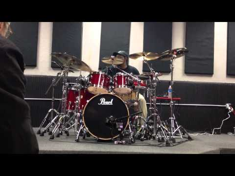 "Marvin ""Smittty"" Smith drum clinic at TJ's Music"
