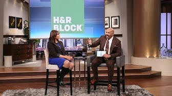 H&R Block Refund Advance || STEVE HARVEY