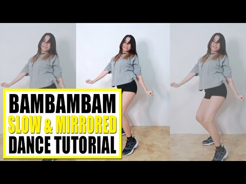 BAMBAMBAM Dance Tutorial (Slow & Mirrored) | Rosa Leonero
