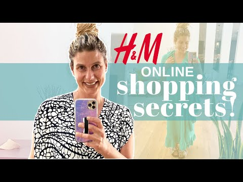 How To Shop H&M ONLINE: All My SECRETS REVEALED + Kaftan Collection Try On!