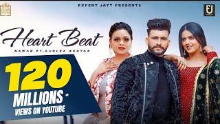 Heart Beat | Nawab | Gurlez Akhtar | Pranjal Dahiya  | Desi Crew | Latest Punjabi Songs 2021