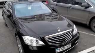Mercedes S-class w221 в Астане(Тюнинг. Двери в стиле Rolls Royce на Mercedes S-class w221., 2013-11-08T08:41:38.000Z)