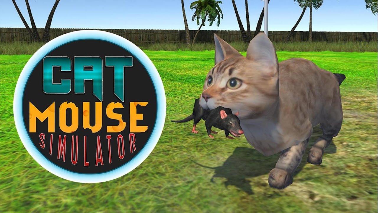 Кот против мышь играть