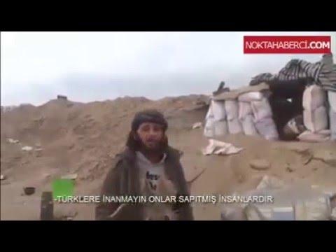 Türklere Hakaret eden Işid militanını Canlı Yayında TSK bombaladı !