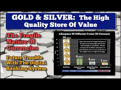 GOLD & SILVER: High Quality Store Of Value, Fragile Nature Of Currencies