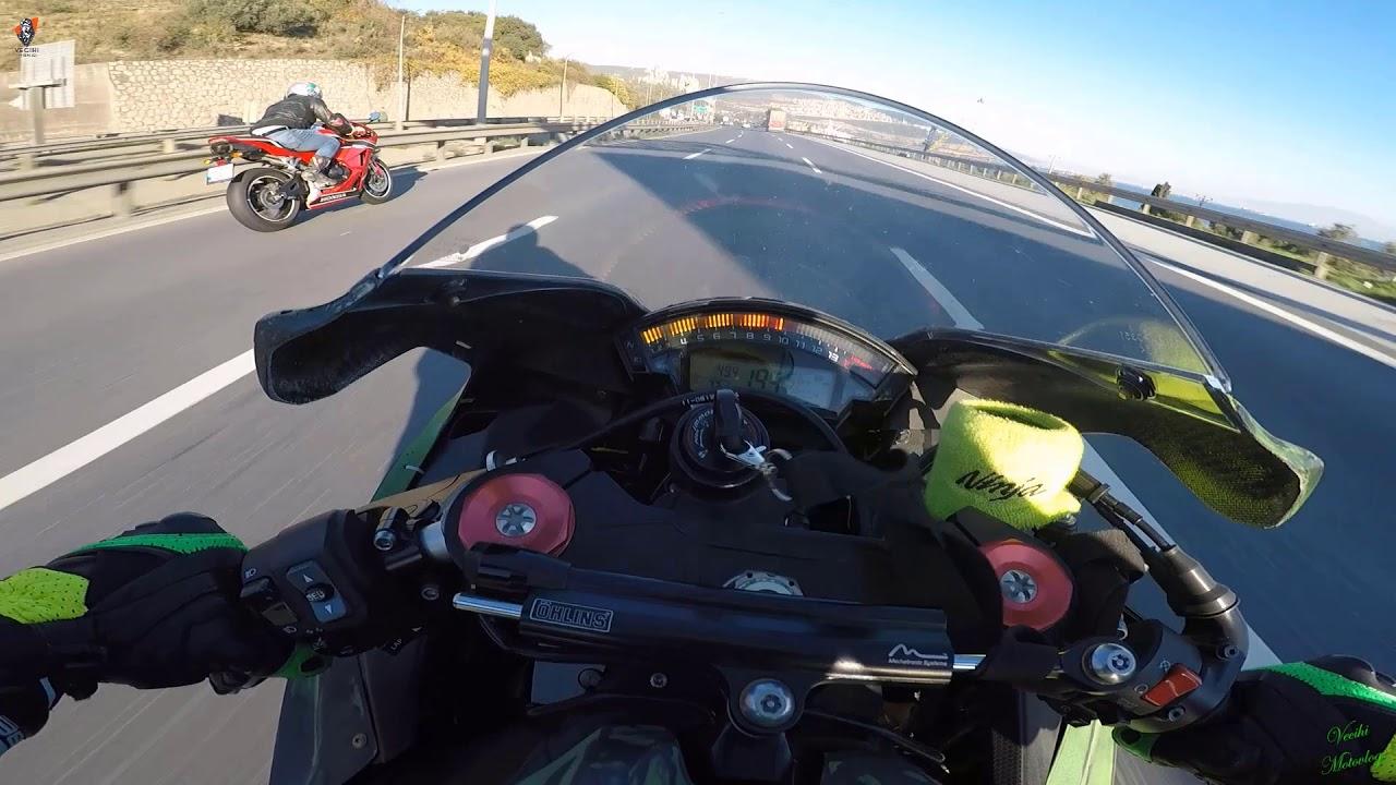 Download Bol aksiyon bol gazlama izleyince gaza geleceksiniz Kawasaki ninja zx10r Honda CBR 600rr
