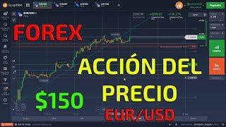 ►FOREX TRADING CON ACCIÓN DEL PRECIO◄ EUR/USD $150