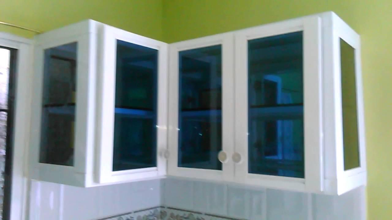 Gabinete de cocina en aluminio youtube for Ventanas de aluminio para cocina