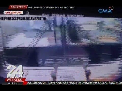 24 Oras: Pampasaherong bus, natumbok ang sinusundang sasakyan