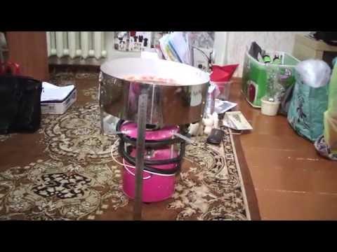 Мифы о сладкой вате: как выглядит оборудование после работы