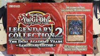 Opening My Yugioh Legendary Collection 2 Duel Academy Years Gameboard Edition