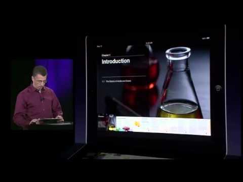 iTunes U app demo by Jeff Robbin at Apple Education Event Jan. 19, 2012
