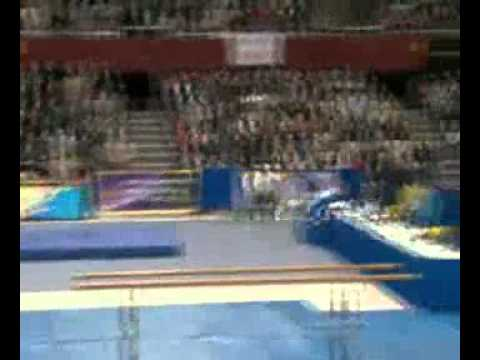 Эстонский гимнаст улетел