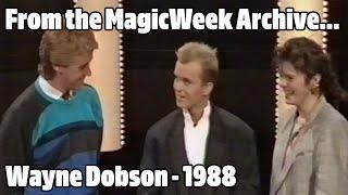 Wayne Dobson - Magician - The Joe Longthorne Show - October 1988 - MagicWeek.co.uk